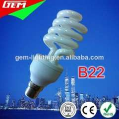 5-45W Spiral B22 CFL Bulb WIth CE ROHS Approved