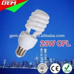2700-6500K 8000Hours Spiral 23W CFL Bulb With Price