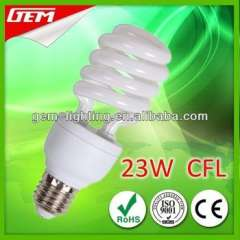 Most Popular Half Spiral 23W Compact Fluorescent Lamp