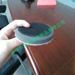 Supply produce six inches in diameter sanding sponge cushion pad, circular chamfer sanding sponge cushion pad