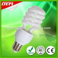 China Factory Most Popular Selling Half Spiral Energy Saving Lamp