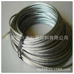 Spot wholesale / 321 stainless steel wire rope / import 321 metal rope / non-standard stainless steel wire rope