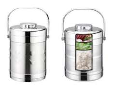 1.2L stainless steel vacuum double handle pan | cooler | lunch box BPM0521