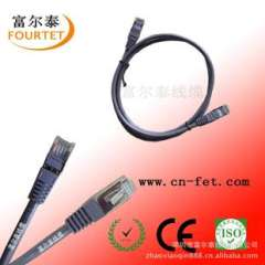 Supply of quality steel molding FTP network cable, patch cords, steel crystal head