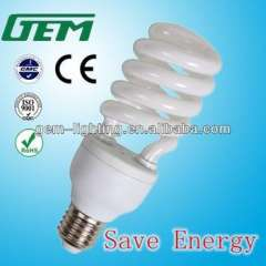 GEM 5-40W E27 CFL Half Spiral Save Energy Lamp