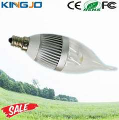 3W Dimmable E14 Led Flicker Flame Candle Light Bulbs