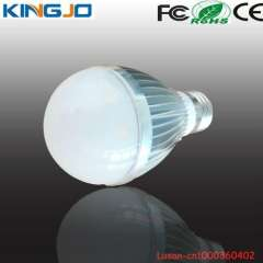 Promotional factory price 5w led globe bulb e27