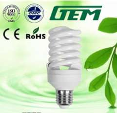 Ten Years Experience Hangzhou Reliable ISO Certified Factory Direct Sell Economic Lamp Spiral 20W CFL Manufacturer