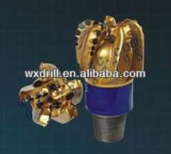 5 blades IADC code PDC bit for well drilling
