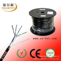 Supply CAT5E, CAT6, UTP / FTP / SFTP outdoor water blocking network cable / network cable
