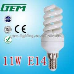 China Alibaba Popular 11W E14 CFL Energy Saving Lamps