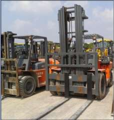 10 tons of used forklifts - 'New 2013'