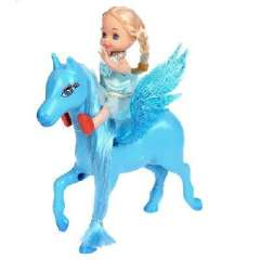 Cute angel horse princess doll playsets -6 mounted | Color Random