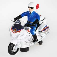 With light music universal rotary motorcycle / electric police patrol car