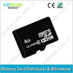 2013 New and High Speed Bulk Memory card, Micro SD card, TF card