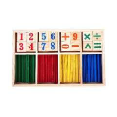Children's colorful Digital stick/number-crunching game box