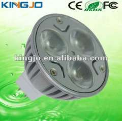 Energy saving 3W MR16 led spot light with CE, Rohs, FCC