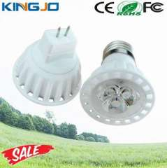 Ceramic Cover 3W Led Spot Light MR16 220V