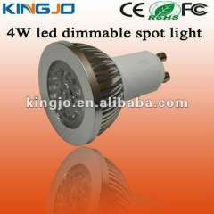 hot-selling 4W dimmable spotlight led gu10 with CE, ROHS, FCC certificates