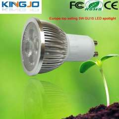 Europe top selling 5w gu10 led spot light