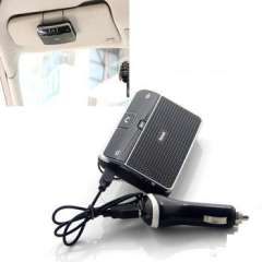 Wireless Bluetooth Car Kit Handsfree | Speakerphone With Charger Supports GPS MP3 Audio