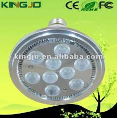 AC85-265V Aluminum 9W indoor spot led light with 3 years warranty