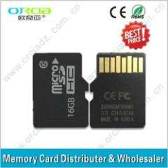 Promotional Micro SD card adapter Flash memory card Micro SD memory cards