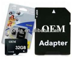 Brand New Real 32GB MicroSD Class 6 Micro TF Flash Memory Card Genuine 32 GB with adapter
