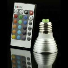 e27 3w rgb led spotlight