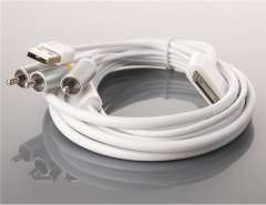 AV Cable for iPad\iPhone\iPod (White)