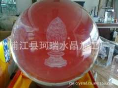 Supply | Crystal laser | Crystal Ball 3D Engraving Gifts | River 200 photosphere perspective engraving process