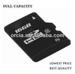 High quanlity real capacity MicroSD card 16GB