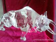 Supply | Crystal dimensional sculpture animal series | Gifts bullish dimensional crystal cow custom processing