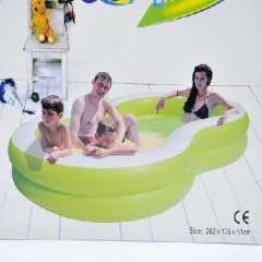8-shaped inflatable pools/increase the family pool