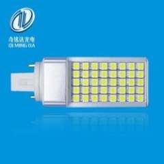 9W Pure White Color Led Plug In Light