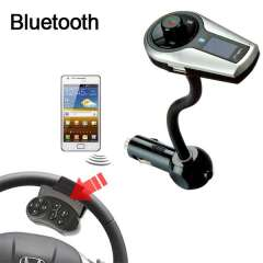 Wholesale Black Bluetooth FM Transmitter & Car MP3 & Portable Call Functionality
