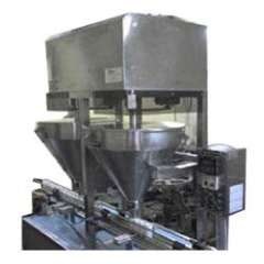 Semi Automatic Double Head Detergent Powder Filling Machine