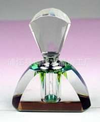 Supply | Crystal perfume bottles | plated body color crystal perfume bottles | Crystal perfume bottles custom body