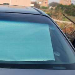 Summer essential car sun shade / automatic retractable insulated curtain (68 * 125cm)