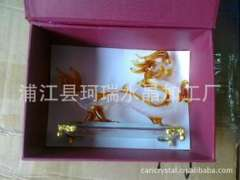 Supply | Crystal drawing | Crystal Crafts Gifts brushed | crystal dragon drawing custom processing