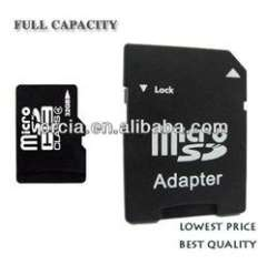 MINI SD Card flash card Mini 4G memory card