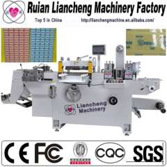 Chinese All kinds of die cutting machines and adhesive label printing machine die cutting
