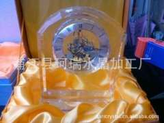 Factory outlets | Crystal Clock | strange new K9 crystal shaped clock (Polaris movement)