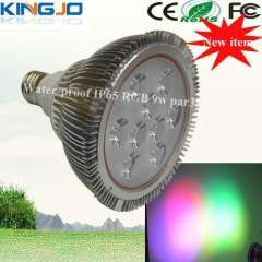 New product- water proof IP65 9w RGB led par38 light for outdoor lighting