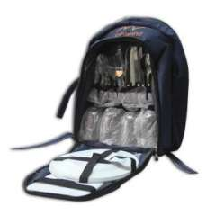 Double picnic bag | shoulders | Portable household insulation package | ice pack | donated a full set of cutlery