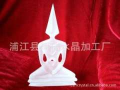 Suppliers | dimensional crystal religious statues | exquisite abstract three-dimensional crystal character custom processing