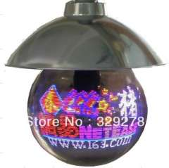 Free shipping LED digit Mira ball 400MM 56Pixels Outdoor Hanging downside Advertising gifts
