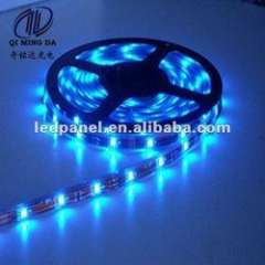 Blue color lighting ip68 SMD5050 120view angle led strips 5m flexible