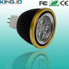 Classical style 3w led spot lamp with E27, GU10, MR16 base