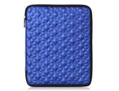 Die design Shock Proof Protective Sleeve Case for the New iPad (Blue)